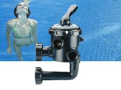 Vanne piscine multivoie