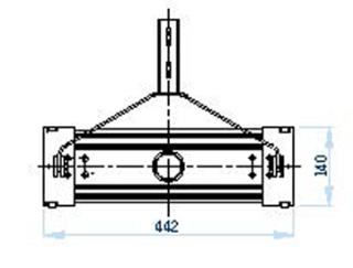 Aspirateur en inox pour piscine b ton et polyester robot for Aspirateur piscine portable