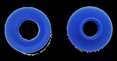 Oeillet plastique pour bâche à bulles