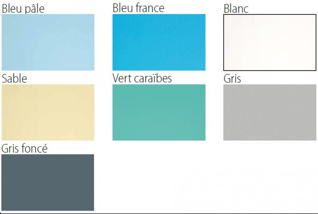 Liner STD 75/100eme - Vert caraïbes