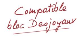 Solubloc bi-vitesse - compatible Desjoyaux