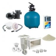 kit complet pour la finition de votre piscine filtration. Black Bedroom Furniture Sets. Home Design Ideas