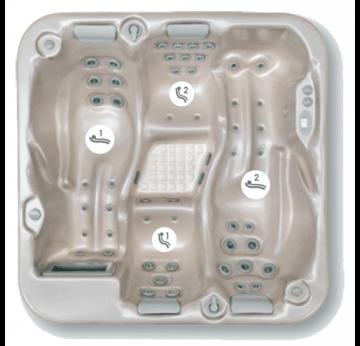 la relaxation aquatique avec le spa mojito encastrer de procopi. Black Bedroom Furniture Sets. Home Design Ideas