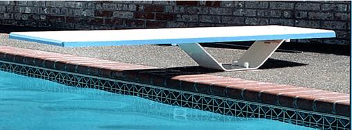 Plongeoir planche seule 1 83 m srs 350 0007 jardin for Planche piscine