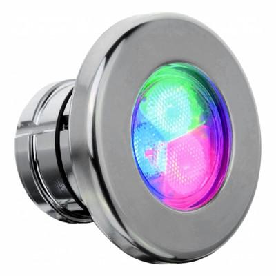 Projecteur RGB - Inox - Pour béton