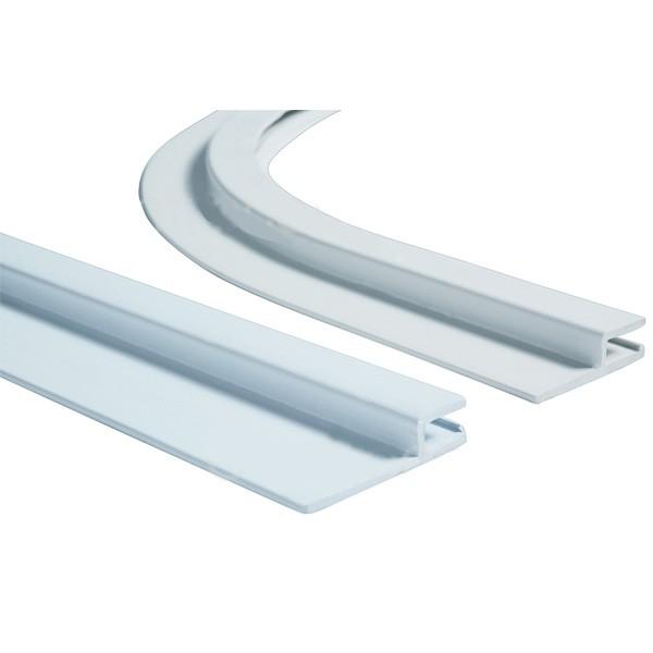 Angle PVC rayon de 15 cm x 50 mm. Prix au mètre linéaire