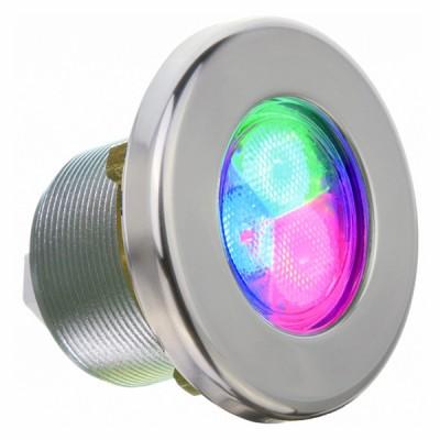 Projecteur RGB - Inox - Pour spa et préfabriqué