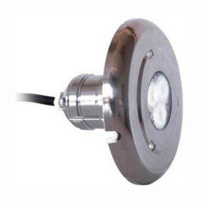 Projecteur Blanc - Inox - Pour béton et liner