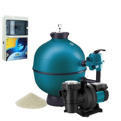D couvrez le kit filtration de piscine d 39 astralpool pour vous assurer un circuit de qualit for Kit filtration piscine a debordement