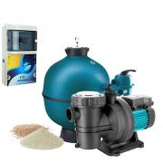 Kit filtration piscine - 10x5 m