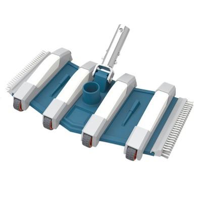 Balai flexible 8 roues - 35 cm - Piscine béton