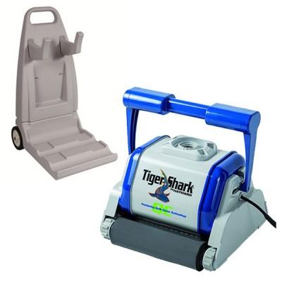 Robot Tiger Shark Quick Clean - Mousse avec chariot