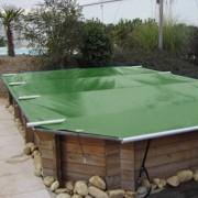 Bâche Coverwood Vert/Beige