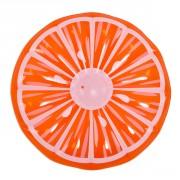 Matelas rond Orange