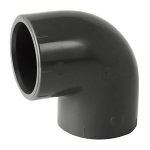 Coude 90° PVC pression à coller FF Ø50