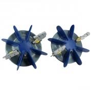 Kit turbines + brosses (x2)