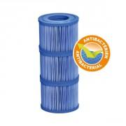 Cartouche de filtration antibactérienne pour Vita Premium - lot de 3
