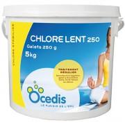 Chlore lent - 250g - 1x5 kg