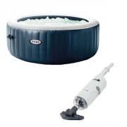 Purespa Blue Navy - 6 places + Aspirateur Intex