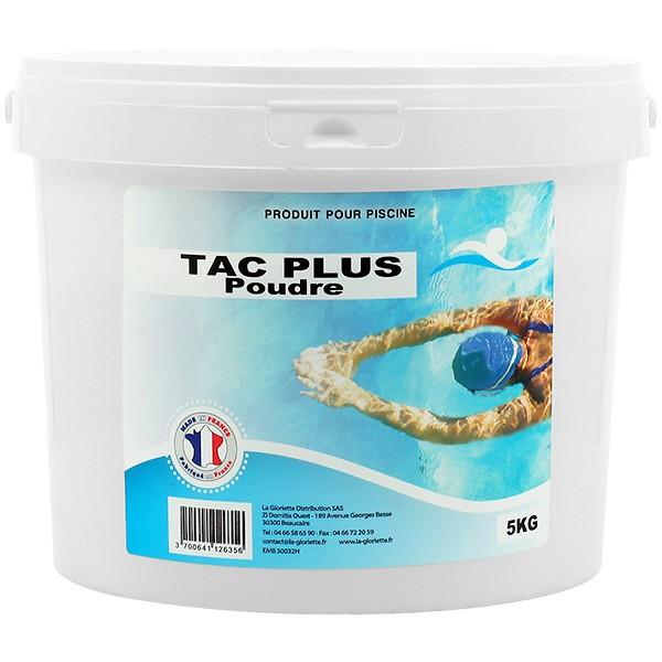 Tac plus poudre 5 kg traitement achat sur for Tac produit piscine