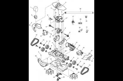 Pièces détachée MX 8