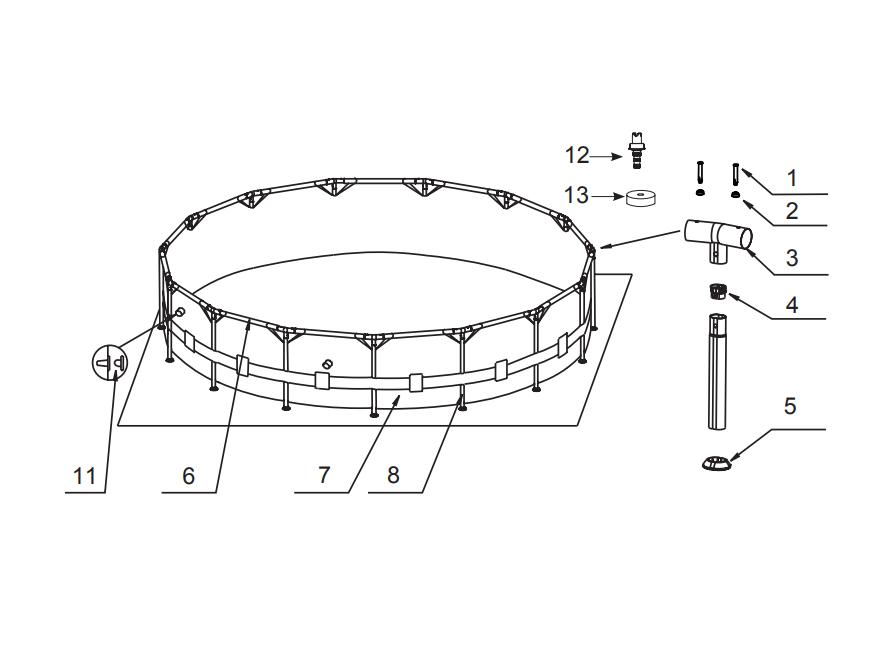 pieces detachees pompe piscine intex stunning intex. Black Bedroom Furniture Sets. Home Design Ideas