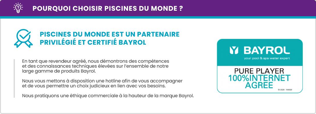 Partenaire certifié Bayrol