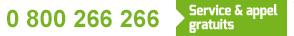 Numéro vert Piscines du Monde